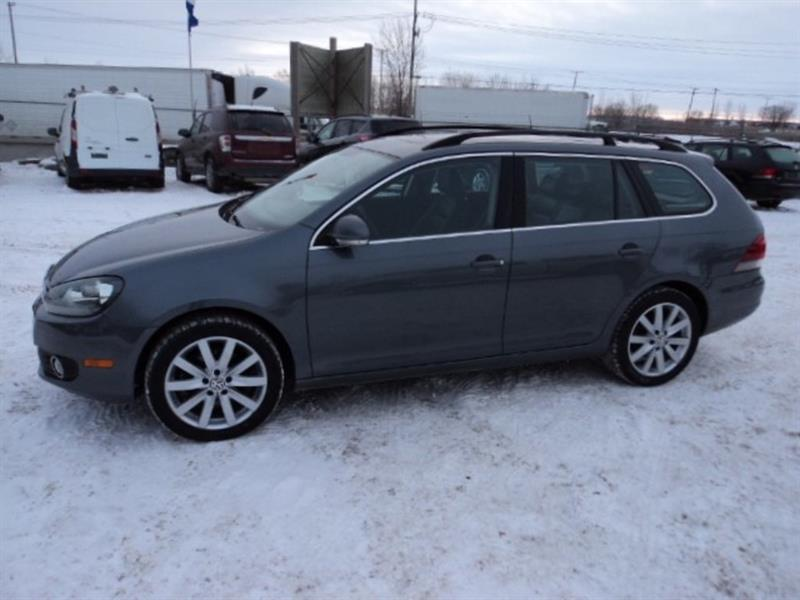 2014 Volkswagen Golf Highline Wagon TDI Diesel
