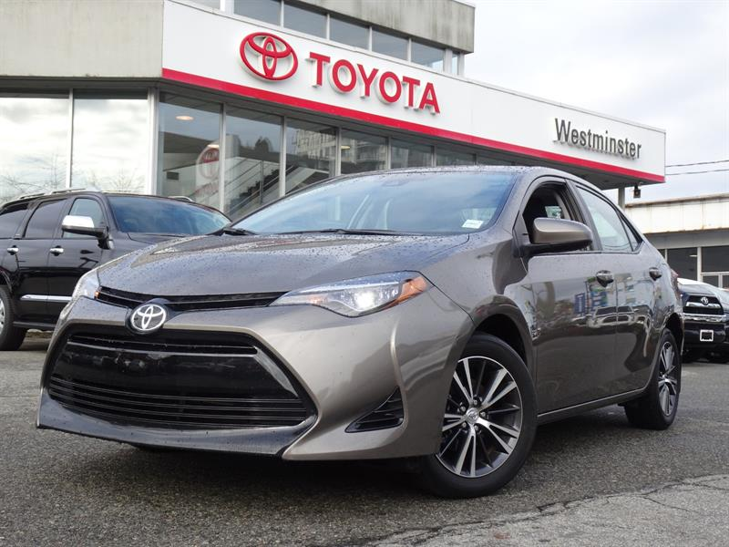 2017 Toyota Corolla Upgrade Package #P6818T