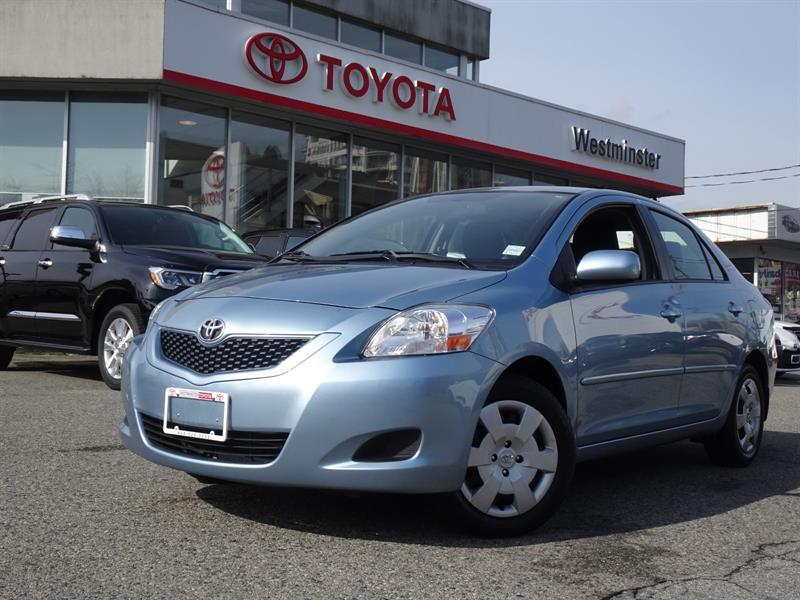 2012 Toyota Yaris 4DR SEDAN #RV19369B