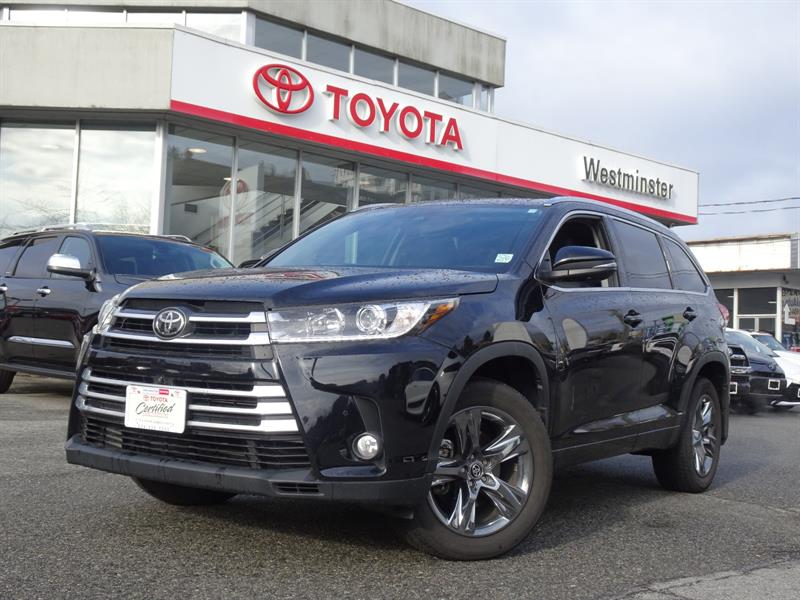 2017 Toyota Highlander LTD #HL19387A