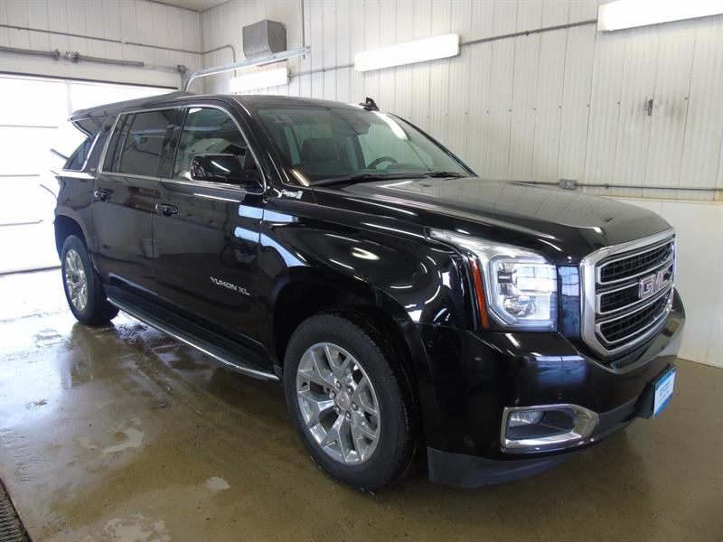 2018 GMC Yukon XL SLT, Leather, Sunroof, DVD, Navigation #J-036A