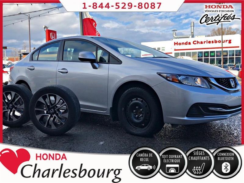 Honda Civic 2013 EX AUTOMATIQUE **TOIT OUVRANT** #UA19069