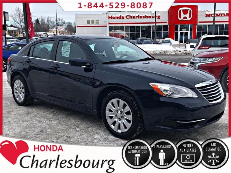 Chrysler 200 2014 LX *AUTOMATIQUE**44 648 KM** #UE19057