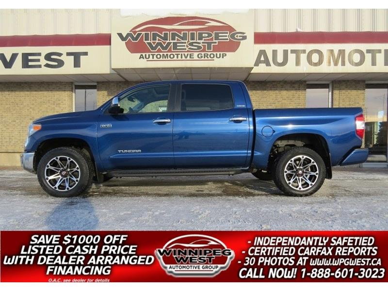 2014 Toyota Tundra LIMITED CREW MAX 4X4,LOADED, 1 OWNER, ONLY 47K! #GW4184