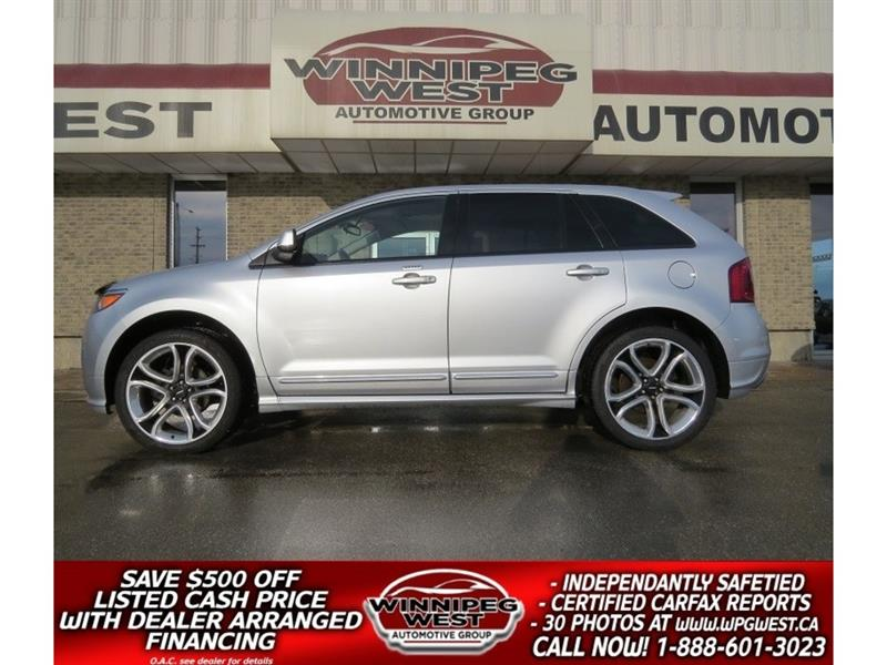 2011 Ford EDGE SPORT AWD, LEATHER, PAN ROOF, NAV, SPORT WHEELS!! #GNW4258