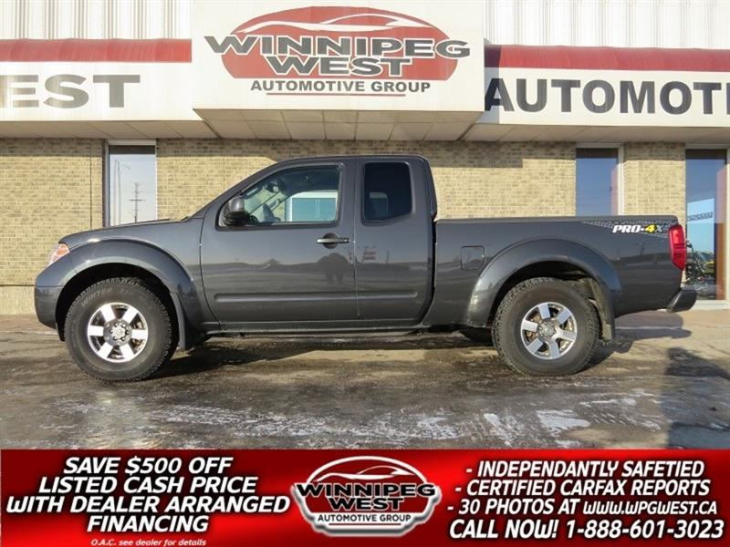 2013 Nissan Frontier PRO-4X V6 4X4, KING CAB, BLUETOOTH, BACKUP CAMERA #GW4609