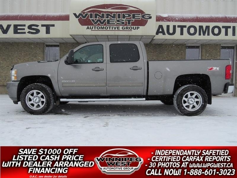 2013 Chevrolet Silverado 2500HD LT2 DURAMAX DIESEL Z71 4X4, HEATED SEATS, 1 OWNER! #DW4716