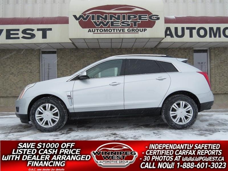 2011 Cadillac SRX LUXURY EDITION AWD, PAN ROOF, NAV & MUCH MORE #GNW4810
