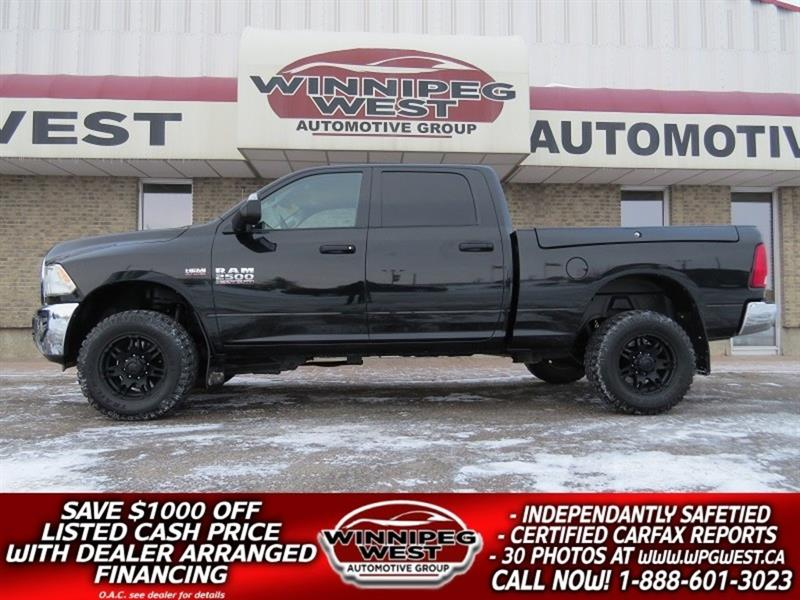 2016 Dodge Ram 2500 SLT+ HEMI 4X4 RAM BOX, TOW PKG, CLEAN LOW KMS! #GW4824A