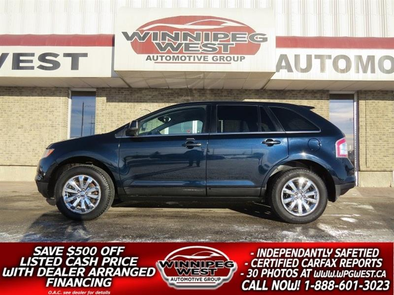 2010 Ford EDGE LIMITED AWD, LEATHER, REMOTE START, LOW LOW KMS #GNW4874