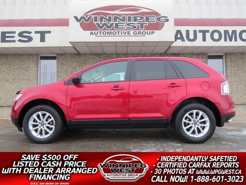2010 Ford EDGE SEL AWD, PAN ROOF, HEATED SEATS, CLEAN MB SUV #GNW4884