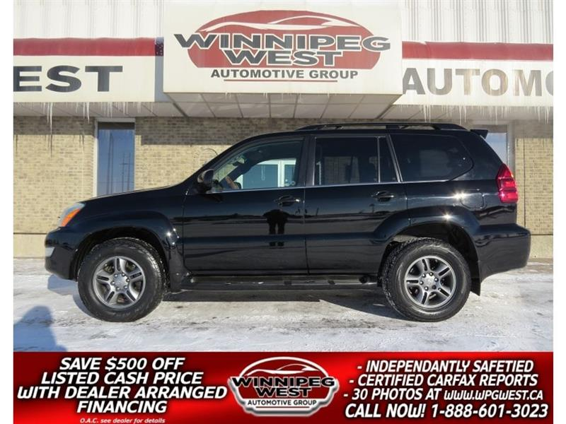 2007 Lexus GX 470 LUXURY 4X4, 8 PASS, LOADED, FLAWLESS LOCAL TRADE #GIW4929
