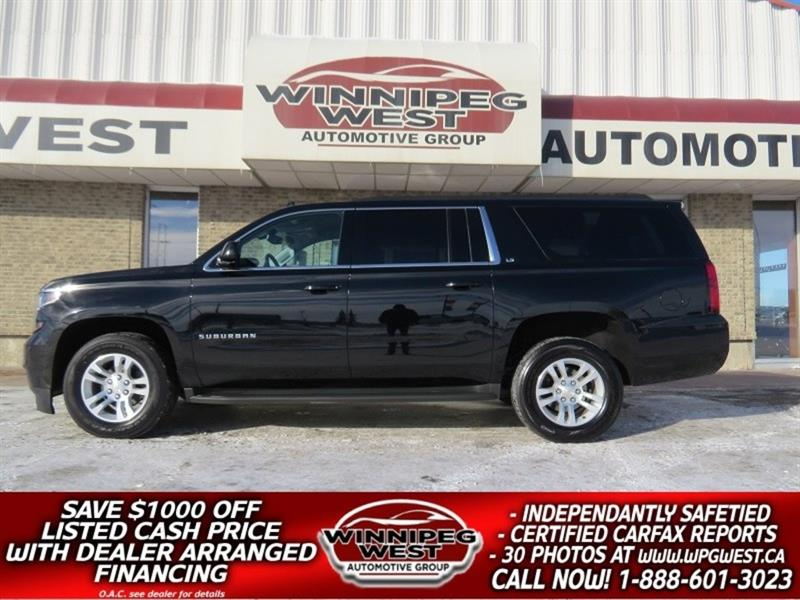 2016 Chevrolet Suburban 4X4, LOADED 8 PASS, EXTRA CLEAN SUV! #GNW4958
