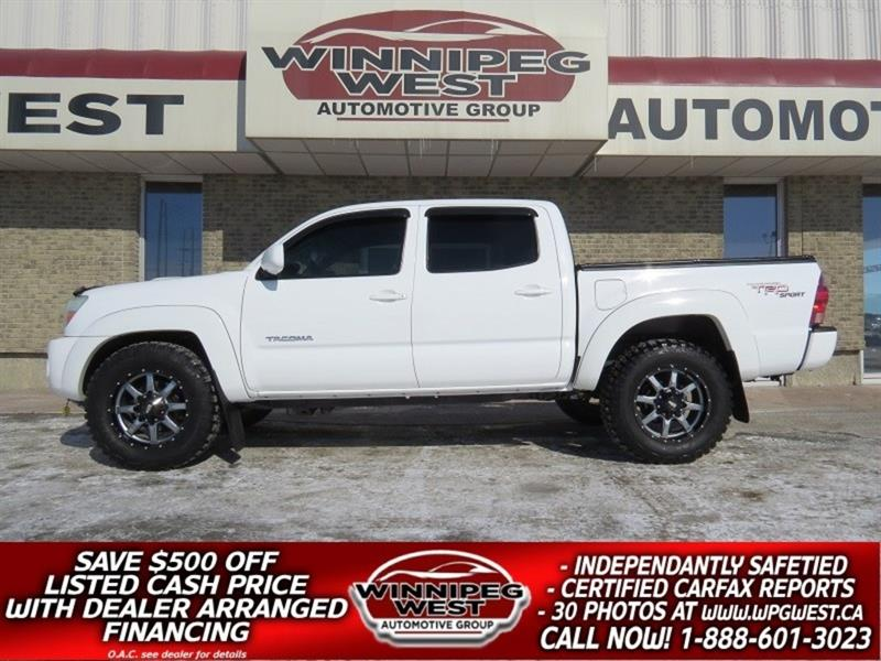 2006 Toyota Tacoma V6 DOUBLE CAB 4X4, TRD SPORT, TOW PKGE, FLAWLESS!! #GW4967