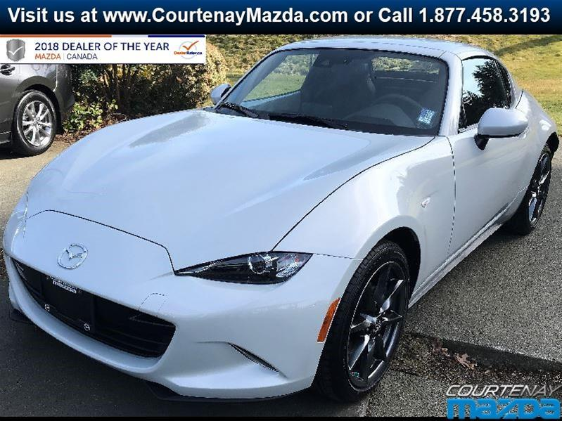 2019 Mazda MX-5 RF GT 6sp Black Leather #19MX55532