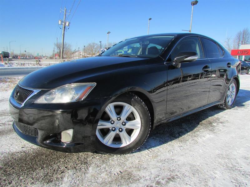 Lexus IS 250 2010 MAN. A/C CRUISE BLUETOOTH CUIR!!! #3905A
