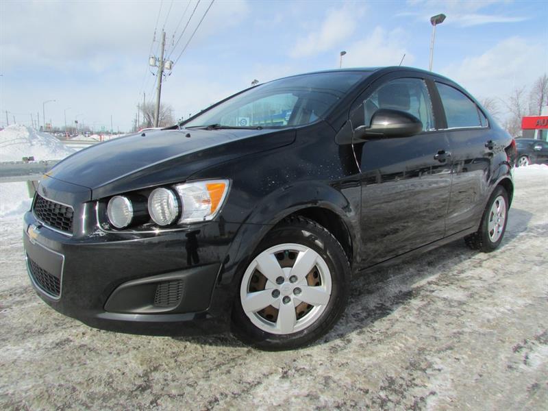 Chevrolet Sonic 2012 LS MAN. A/C CRUISE **99 600KM** #3794A