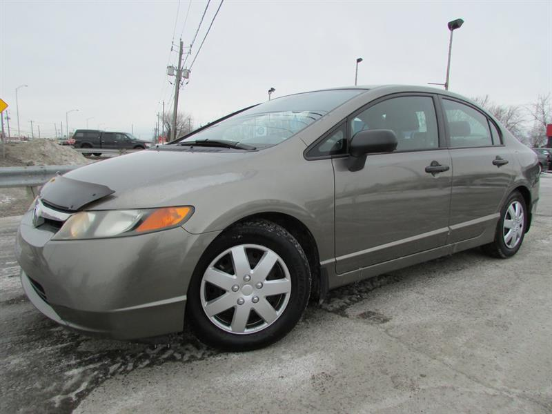 Honda Civic 2006 DX-G MAN. A/C GR ELECTRIQUE!!! #4207A