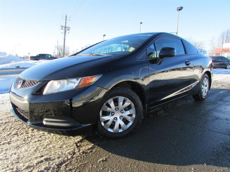 Honda Civic 2012 LX MAN. A/C CRUISE BLUETOOTH!!! #4139