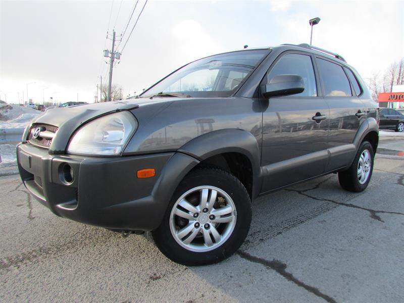 Hyundai Tucson 2008 GL V6 A/C CRUISE PNEUS D'HIVER!!! #4255