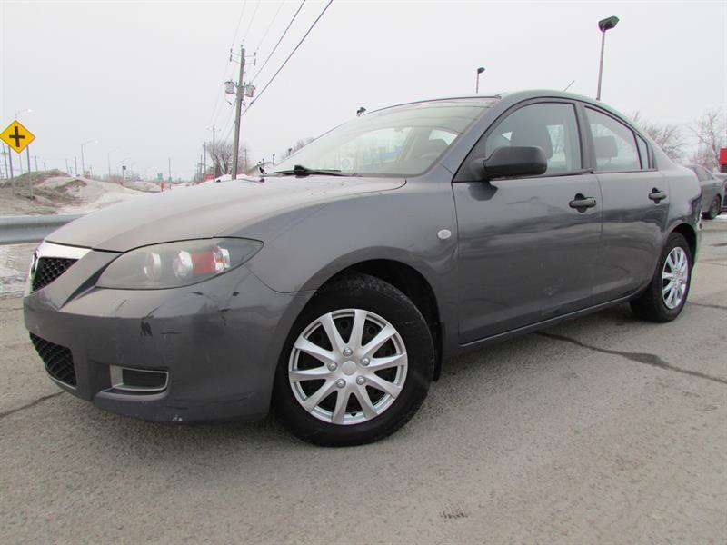 Mazda Mazda3 2008 2008 Mazda Mazda3 - 2008 4dr Sdn Man GX -Ltd Avail #4260