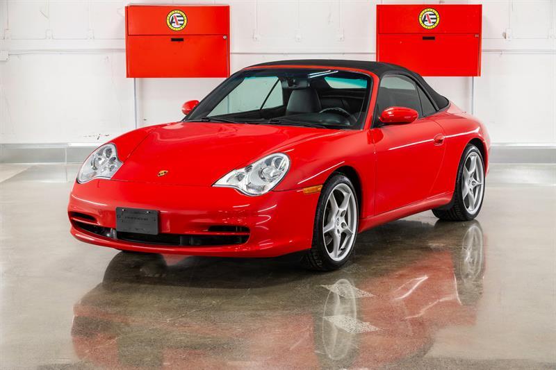 2002 Porsche 911 Cabrio CONVERTIBLE, TIPTRONIC