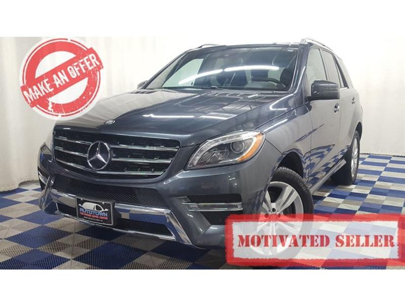 2013 Mercedes-Benz M-Class ML350 BlueTEC 4MATIC/ACCIDENT FREE/FULLY LOADED! #LUX13MM63961