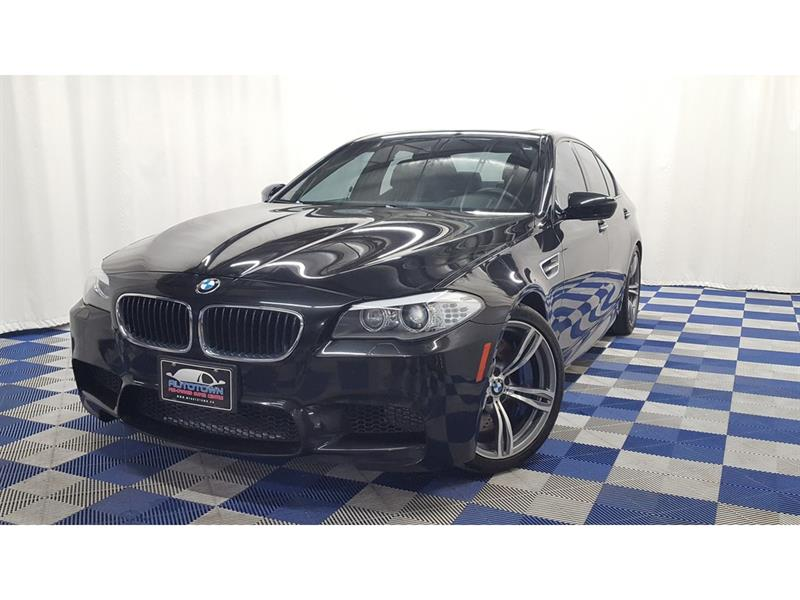 2013 BMW M5 ACCIDENT FREE/NAV/SUNROOF/LOADED!! #LUX13BM96798