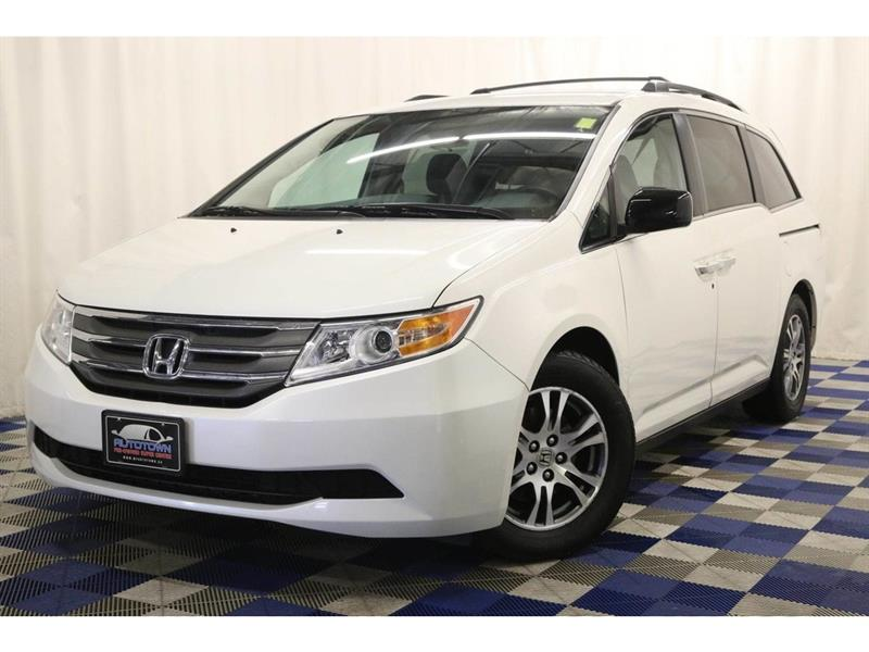 2013 Honda Odyssey EX 8 SEATER-BACK UP CAM-POWER DOORS #13HO04122