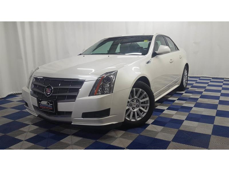 2010 Cadillac CTS 3.0L/PANO ROOF/HEATED SEATS/ LOW KMS #LUX10CC10348