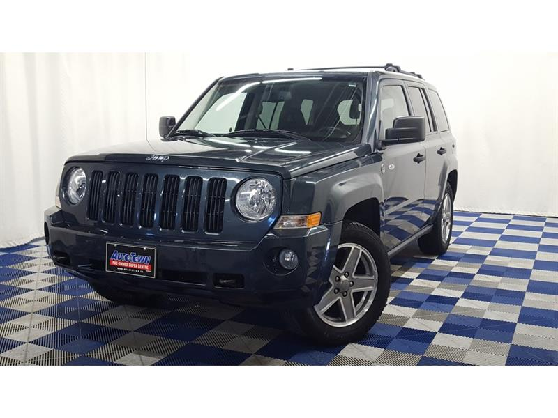 2008 Jeep Patriot /North/WOW LOW KMS/LOCAL VEHCLE/SUNROOF #8JP32844