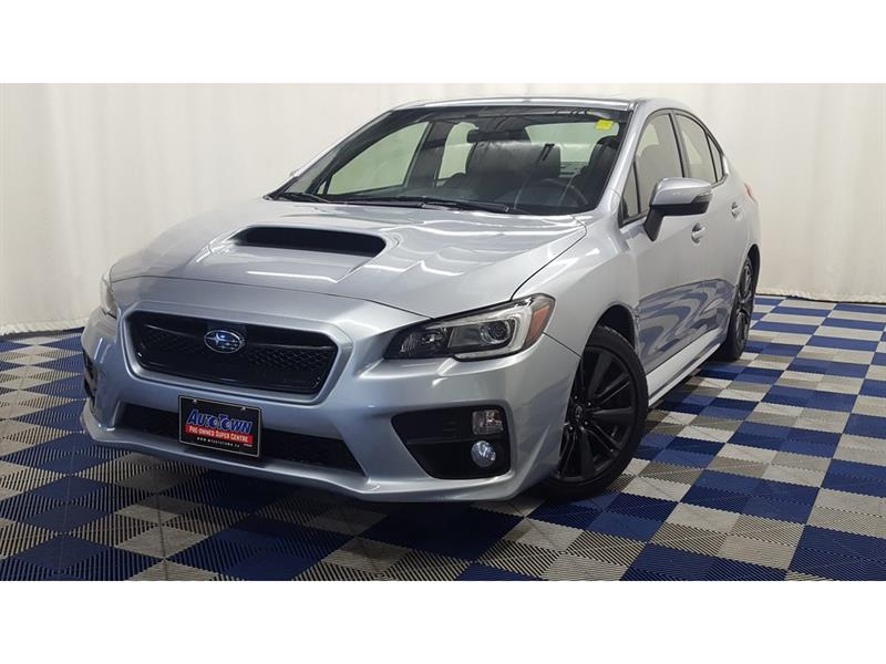 2016 Subaru Wrx AWD /HTD SEATS/SUNROOF/LOW KMS!!! #16SW13393