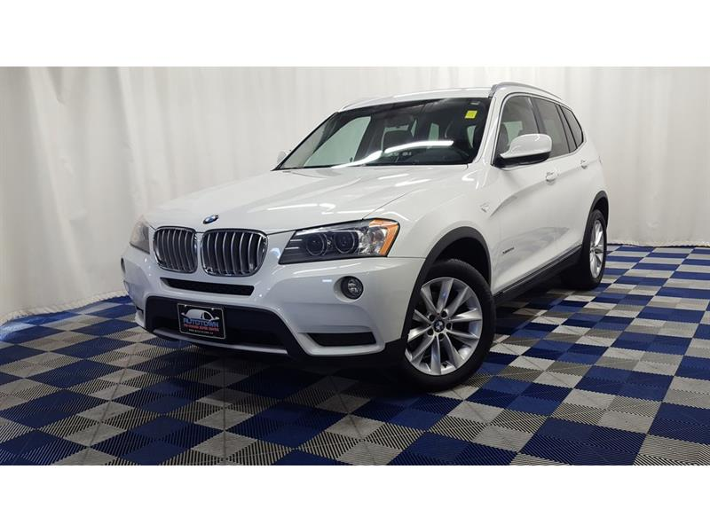 2014 BMW X3 xDrive35i/ACCIDENT FREE/PANO ROOF/BCK UP CAM #LUX14BX84435