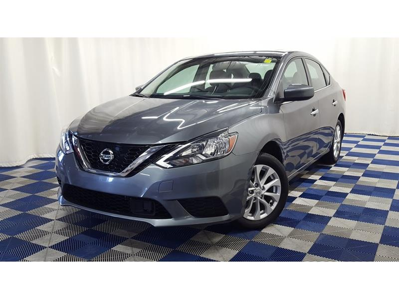 2018 Nissan Sentra 1.8 SV/Accident Free/Sunroof/htd seats #18NS82979