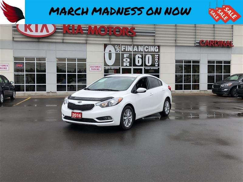 2016 Kia Forte LX PLUS with HEATED SEATS and BLUETOOTH and ALLOYS #7003A