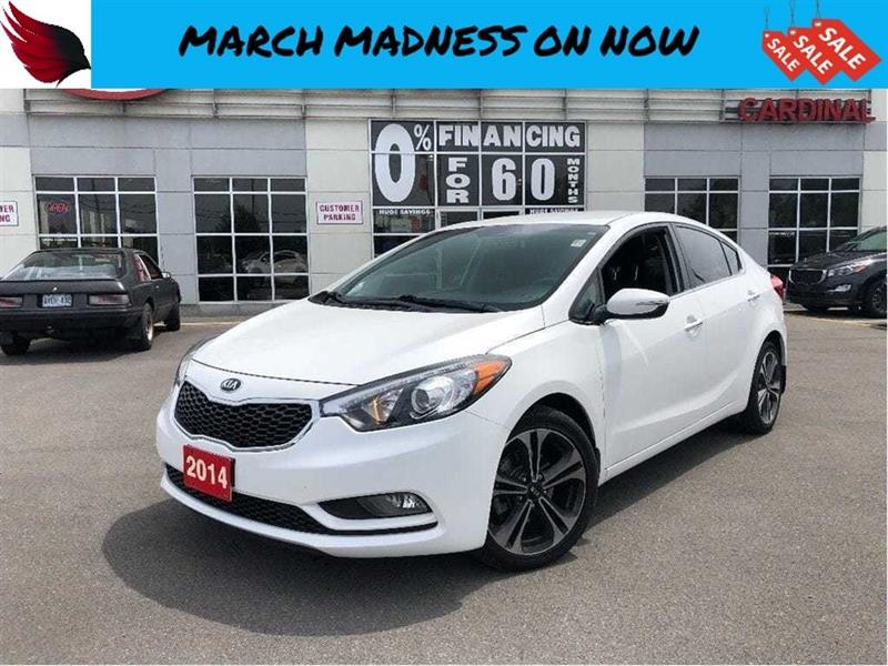 2014 Kia Forte EX with BLUETOOTH and BACK UP CAMERA #7093