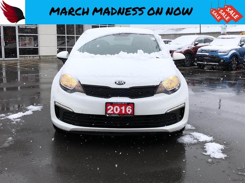 2016 Kia Rio LX with BLUETOOTH and AIR CONDITIONING #FR18129C