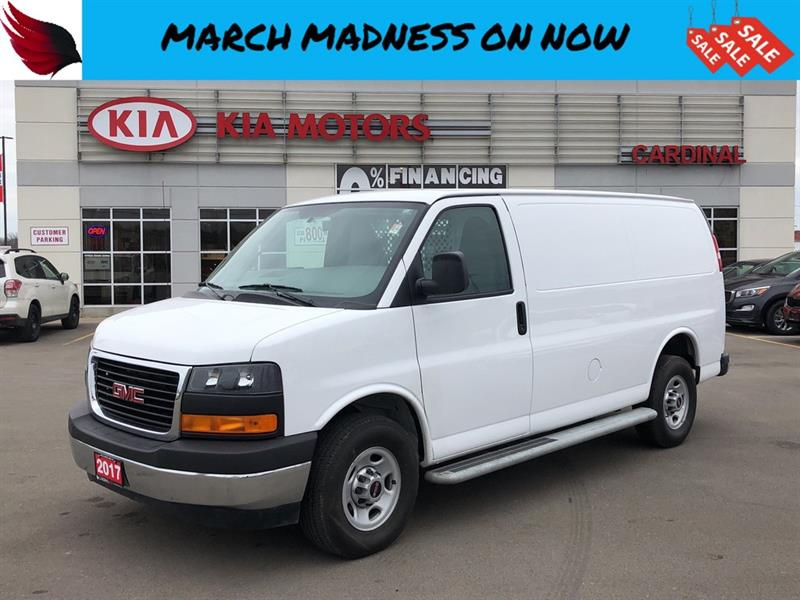2017 GMC Savana 2500 CARGO VAN you can START YOUR NEW CAREER TODAY #8033