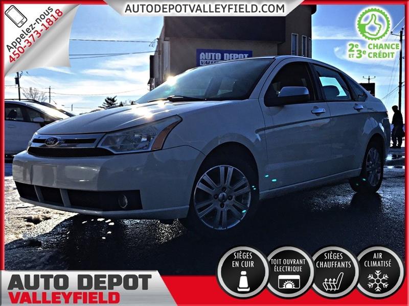 Ford FOCUS 2011 SEL + CUIR, TOIT, MAGS #P1338