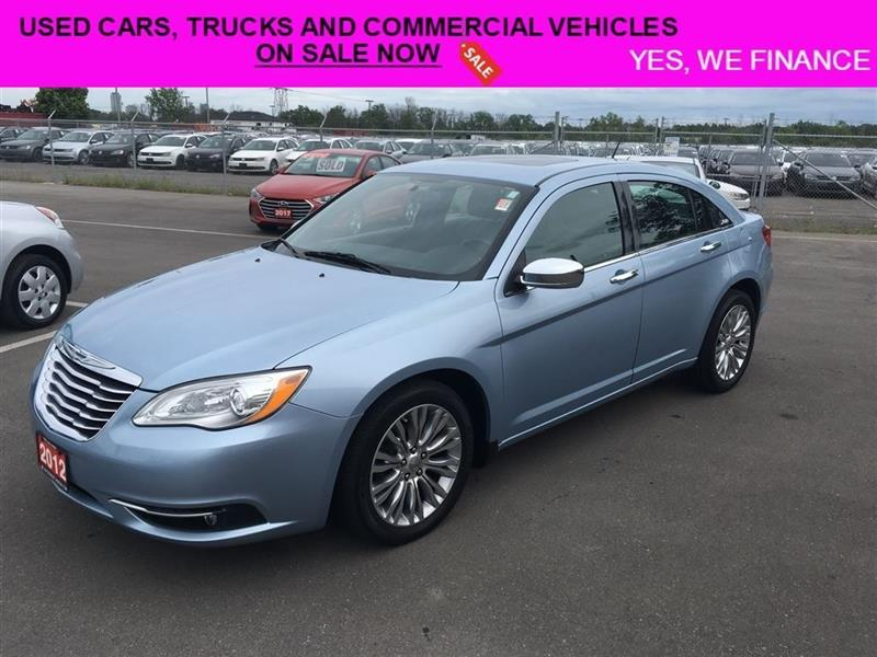 2012 Chrysler 200 Limited Lots Of Options!! #018136