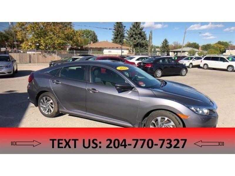 2016 Honda Civic EX BACKUP CAM, HEATED SEATS, BLUETOOTH #5375