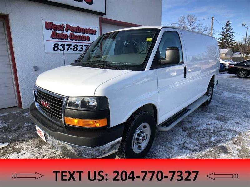 2017 GMC Savana 2500 Work Van #5425