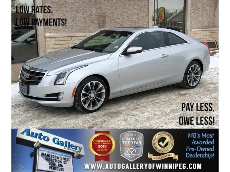 2015 Cadillac ATS Premium *AWD/Lthr/Roof/Navi/Bluetooth #21820
