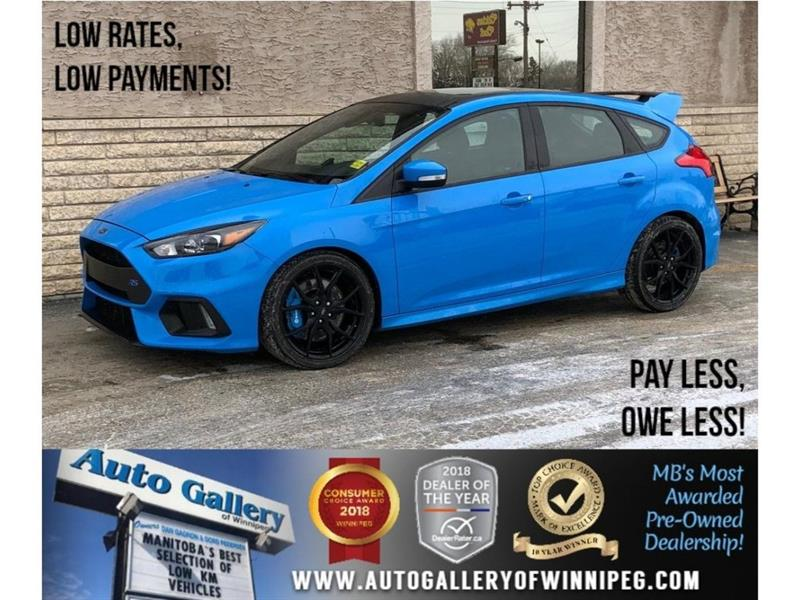 2016 Ford FOCUS RS *AWD/6Spd/Navigation/Sunroof/Htd Lthr #23250