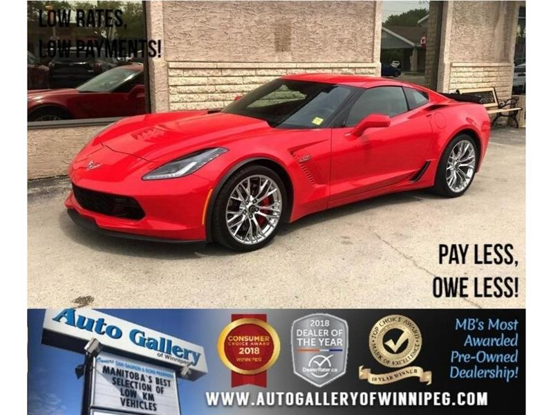 2016 Chevrolet Corvette Z06 3LZ *Supercharged/Lthr/Navi #23346