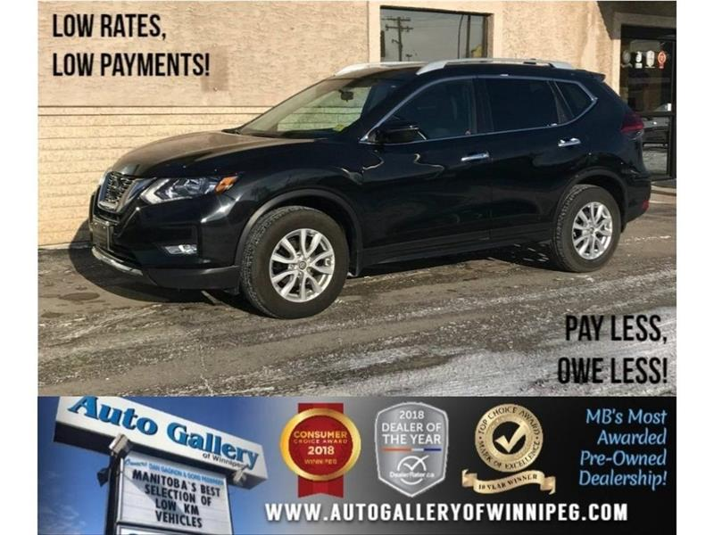 2018 Nissan Rogue SV *AWD/Pano Roof/Backup Cam/Htd Seats #23508