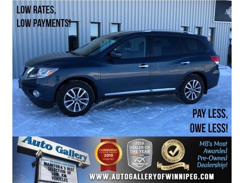 2014 Nissan Pathfinder SL *AWD/Lthr/Backup Cam/Bluetooth #23530