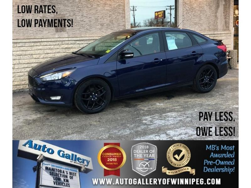 2016 Ford FOCUS SE *Backup Cam/Bluetooth/Alloys #23539