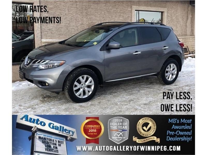 2013 Nissan Murano SL *AWD/Leather/Sunroof #23540
