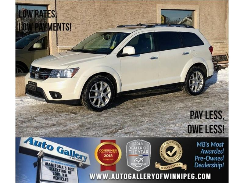 2014 Dodge Journey R/T *AWD/Navigation/Sunroof/Leather #23546